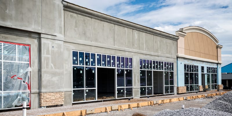 Retail Construction in Collingwood, Ontario